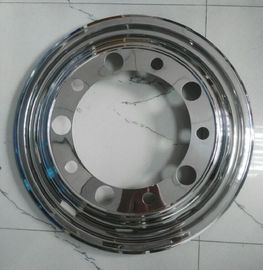 China Scania Truck Bus Wheel Covers 22.5 Inch  304 Stainless Steel Anti - Rust supplier