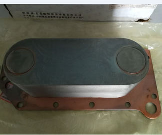 China High Performance Diesel Engine Oil Cooler For Kinglong Higer Bus Corrosion Resistance supplier
