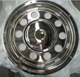 China Front And Rear Bus Wheel Covers 22.5 Inch  Stainless Steel Material Durabe supplier