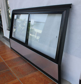 China Sliding Bus Side Window Glass , Pickup Truck Auto Side Glass High UV Shielding Rate supplier
