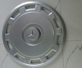China Mercedes Benz Bus Metal Wheel Covers  , Front And Rear 22.5 Chrome Wheel Simulators supplier