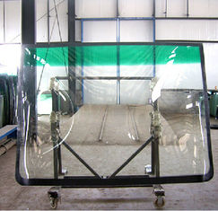 China Golden Dragon Bus Window Glass , Custom Strong Tempered Bus Windscreen Glass supplier