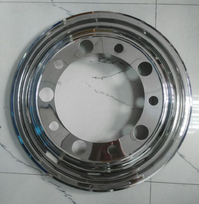 Scania Truck Bus Wheel Covers 22.5 Inch  304 Stainless Steel Anti - Rust